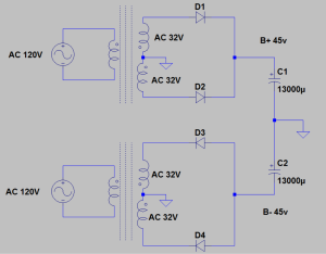 Super-High-current GFA-535 power supply